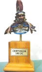 Centurion Young Miniatures Bust 200 mm. Oils and acrylics