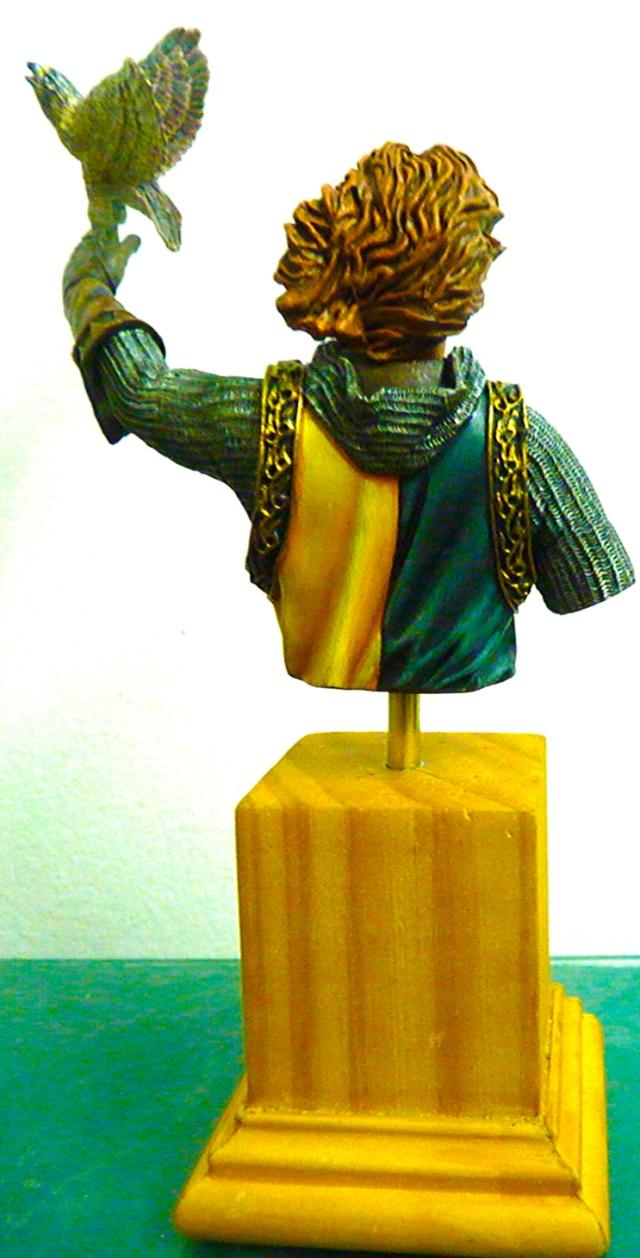 Federico II Hohenstaufen - Oils and acrylics