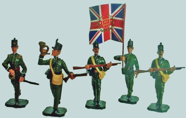 Toy British 95th Rifles