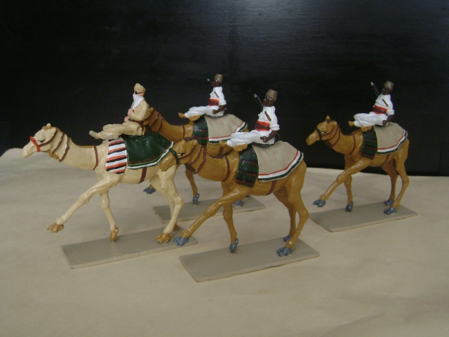 Toy Italian Camel Corp Meharisti Libici Set