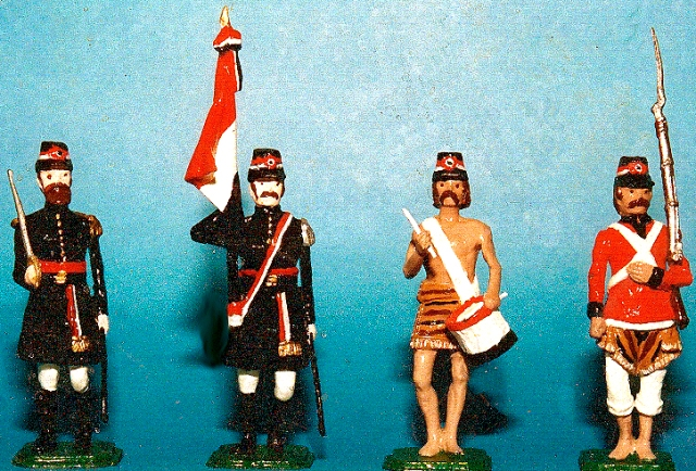 Toy Paraguay 1865